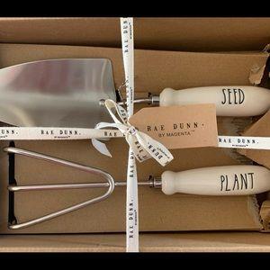 Rae Dunn Garden Tool Set